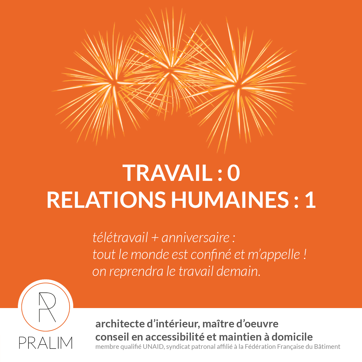 Confinement – relations humaines vs travail